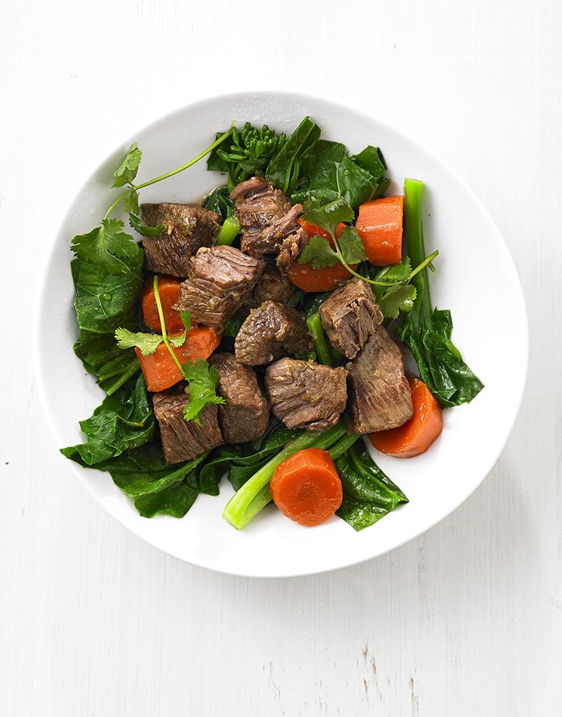 Vietnamese beef brisket casserole